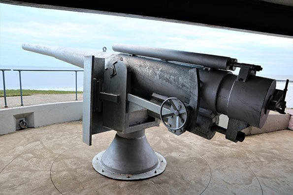 The Big Guns Come to Blyth Battery