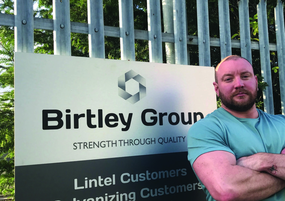 Gary Set to Lift the Dinnie Stones for a Special Cause