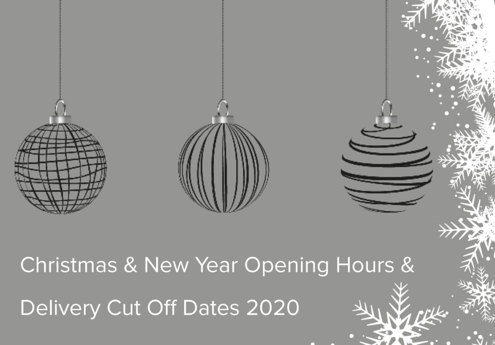 Birtley Group Christmas & New Year Delivery Cut Off Dates 2020
